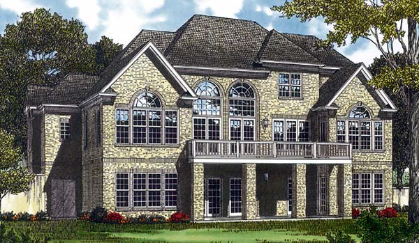 Traditional House Plan 85423 Rear Elevation