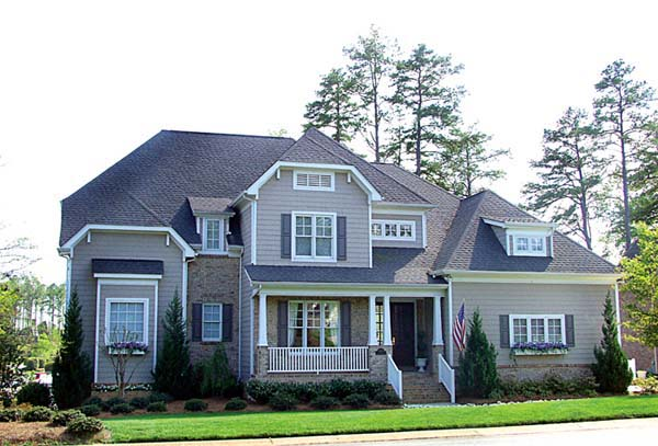 Cottage Craftsman House Plan 85435 Elevation