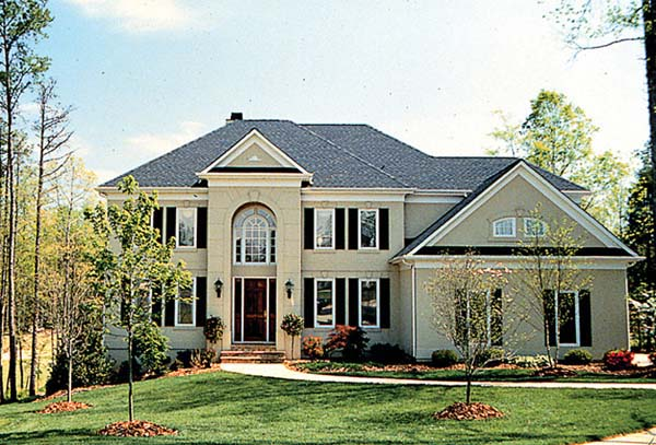 Traditional House Plan 85476 with 6 Beds, 5 Baths, 2 Car Garage Elevation