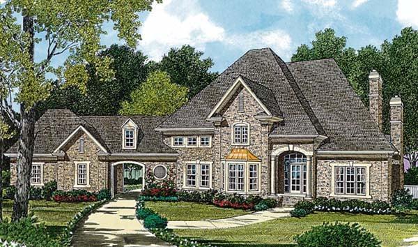 European House Plan 85508 Elevation