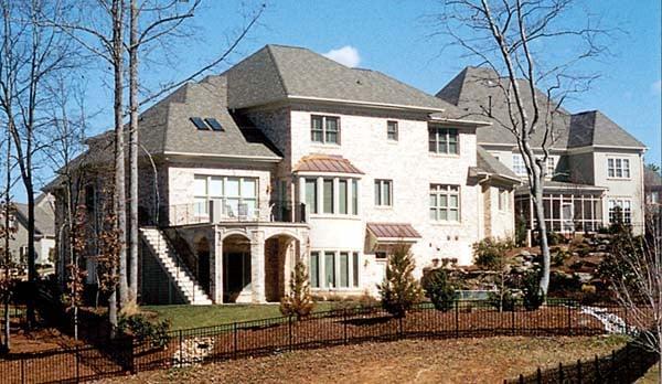 Cottage Craftsman House Plan 85528 Rear Elevation