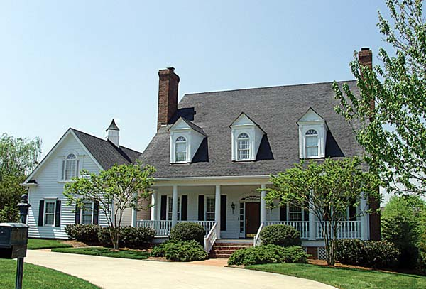 Colonial, Cottage, Country, Farmhouse, Traditional House Plan 85532 with 4 Beds, 4 Baths, 3 Car Garage Elevation