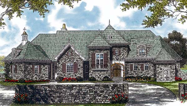 Country European House Plan 85559 Elevation