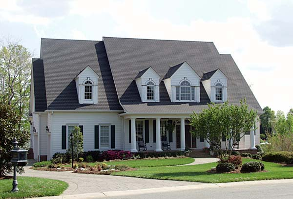Country, Farmhouse House Plan 85565 with 5 Beds, 5 Baths, 3 Car Garage Elevation