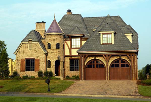 House plan 85569 at for French country tudor house plans
