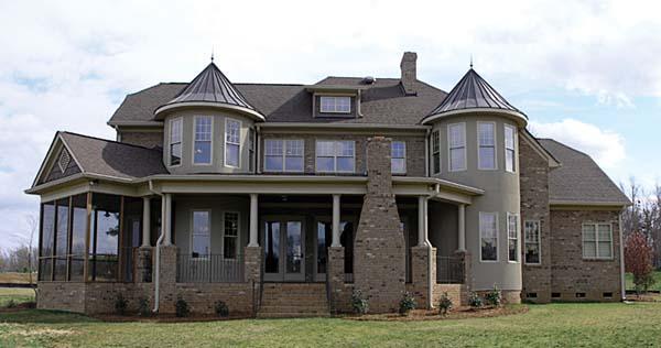 Cottage Craftsman House Plan 85586 Rear Elevation