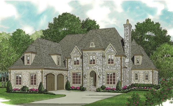 Country European House Plan 85589 Elevation