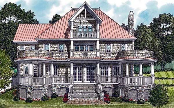 Cottage Craftsman House Plan 85591 Elevation