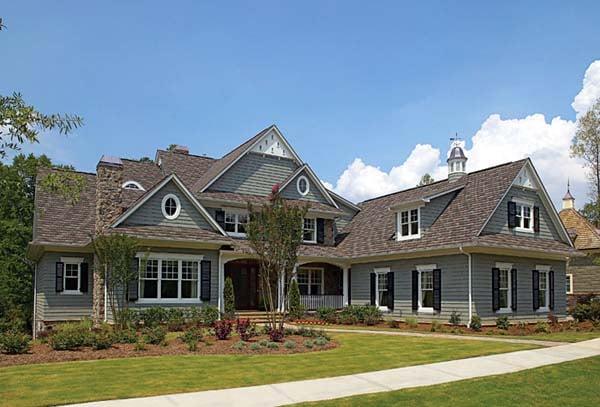 Cottage, Craftsman House Plan 85596 with 5 Beds, 8 Baths, 3 Car Garage Elevation