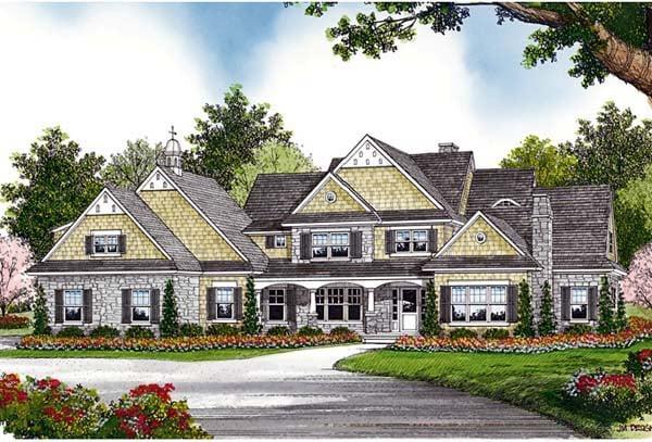 Cottage Craftsman House Plan 85599 Elevation