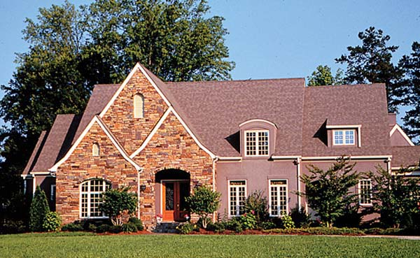 Country European House Plan 85615 Elevation