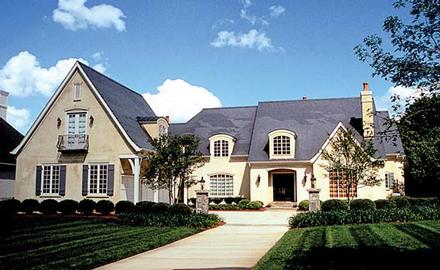 Country, European House Plan 85628 with 6 Beds, 7 Baths, 3 Car Garage