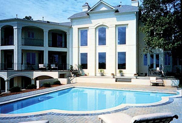 European Mediterranean House Plan 85640 Rear Elevation