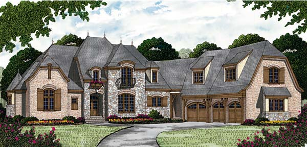 French Country House Plan 85650 Elevation