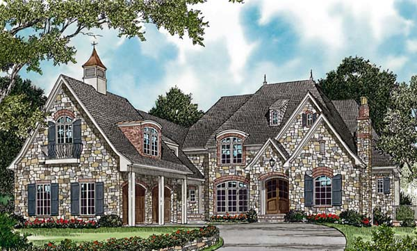 Country European House Plan 85654 Elevation