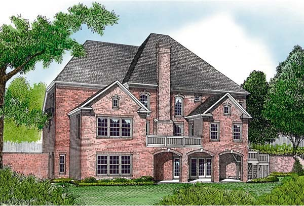 Traditional House Plan 85655 Rear Elevation