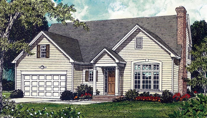 Traditional House Plan 85661 Elevation