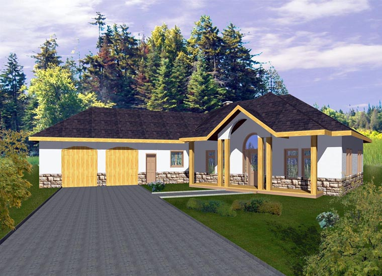 Contemporary House Plan 85860 Elevation