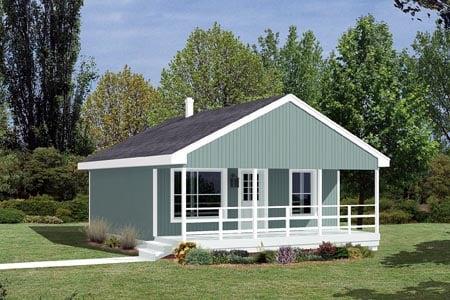 Cabin House Plan 85939 Elevation