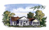 Plan Number 86002 - 1550 Square Feet