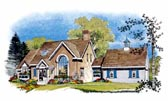 Plan Number 86004 - 1729 Square Feet