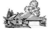 Plan Number 86006 - 1527 Square Feet