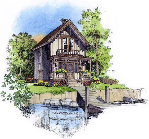 Country Southern House Plan 86008 Elevation