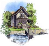 Plan Number 86008 - 896 Square Feet
