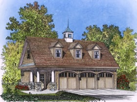 Plan Number 86027 - 798 Square Feet
