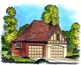 Garage Plan 86051