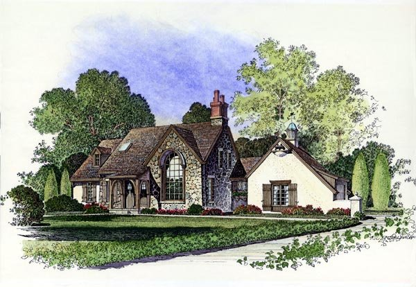 Country European House Plan 86053 Elevation