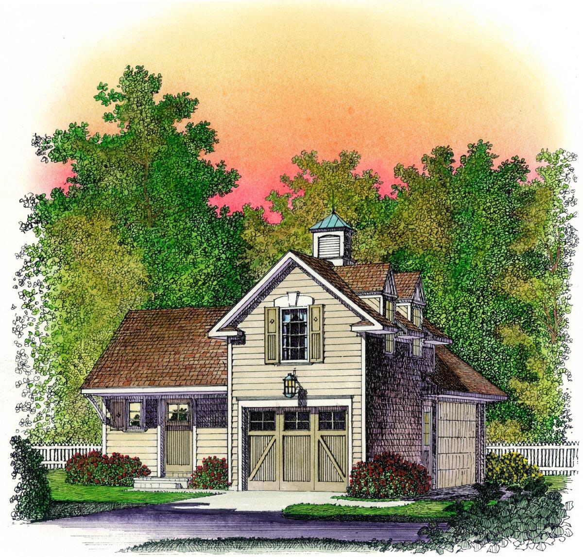 Garage Plan 95833 At Familyhomeplans Com: Garage Plan 86064 At FamilyHomePlans.com