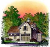 Garage Plan 86064