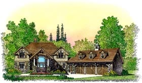 Plan Number 86076 - 3506 Square Feet