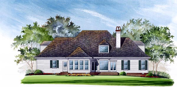Country Southern House Plan 86115