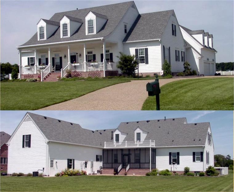 Country Southern Traditional House Plan 86116