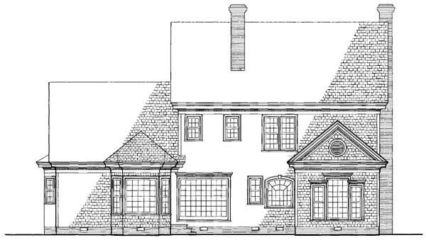 Colonial Southern House Plan 86136