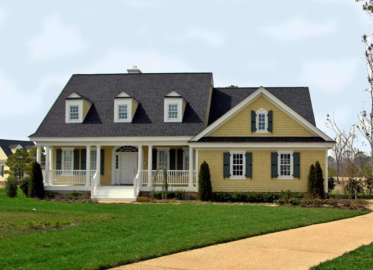 Colonial Cottage Country Southern House Plan 86141