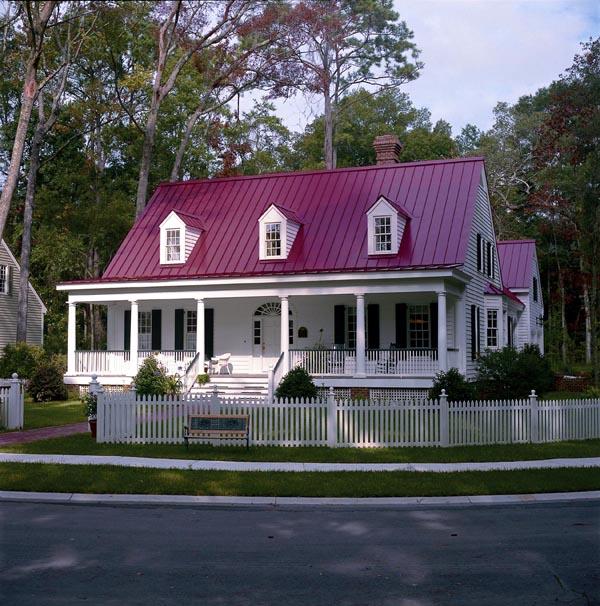 Colonial Cottage Country Southern House Plan 86145 Elevation
