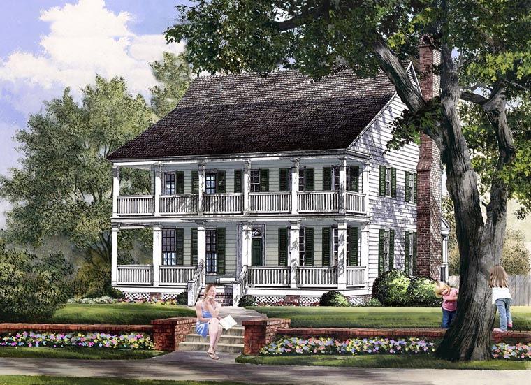 Traditional House Plan 86157 Elevation
