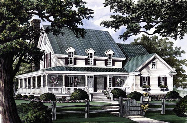 House plan 86162 at for Southern country house plans