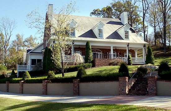 Colonial Plantation Southern House Plan 86174