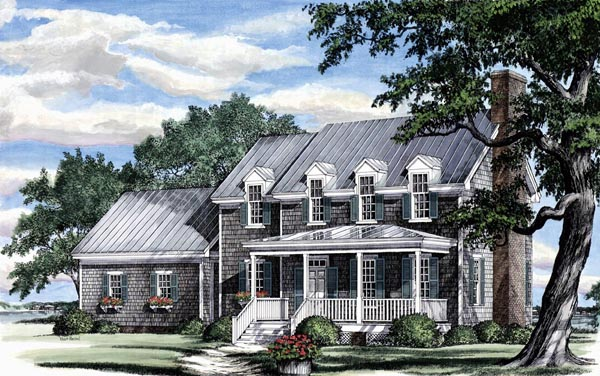 Traditional House Plan 86181 Elevation