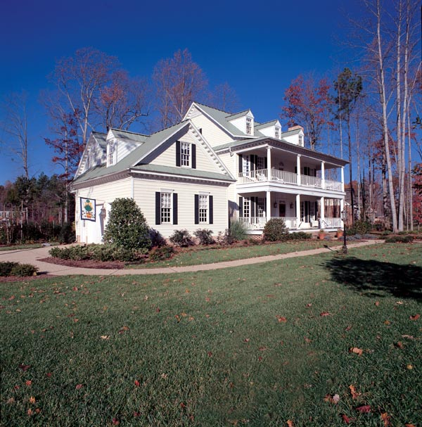 Colonial Southern House Plan 86182
