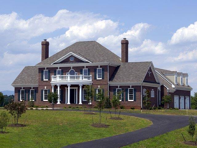 Colonial Plantation Traditional House Plan 86214