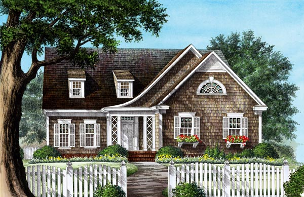 Craftsman Traditional House Plan 86228 Elevation