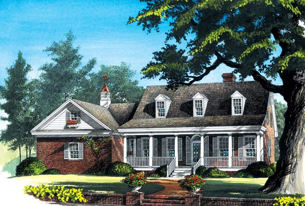 Cottage Country House Plan 86243 Elevation