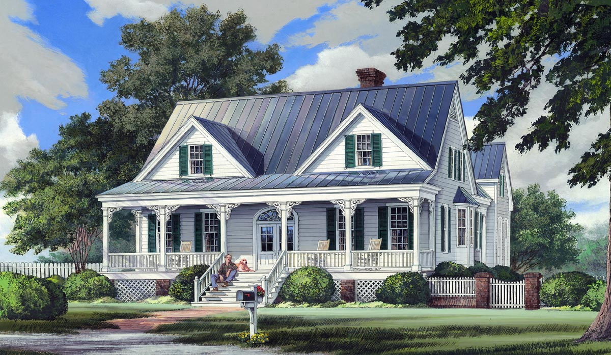 Southern House Plan House Plan 86244 At Familyhomeplans