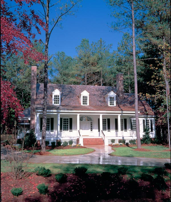 Colonial, Cottage, Country, Farmhouse, Southern, Traditional House Plan 86262 with 4 Beds, 4 Baths, 2 Car Garage Elevation