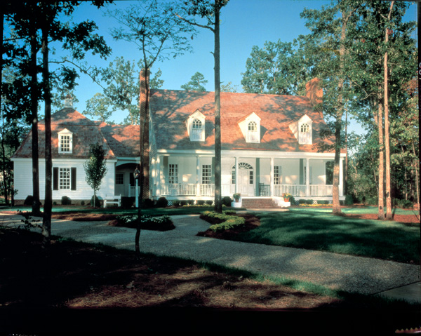 Cape Cod, Colonial, Cottage, Country, Plantation, Southern House Plan 86270 with 5 Beds, 5 Baths, 2 Car Garage Picture 2